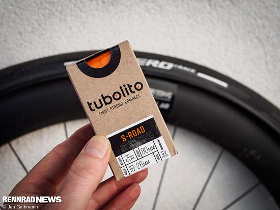 Den S-Tubo Road mit 22 g Gewicht haben wir im Rennrad getestet