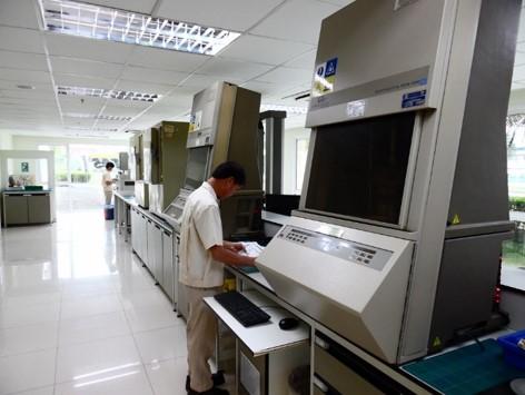 Labor mit Mischungsentwicklung...