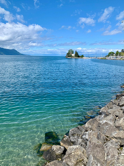 Pfingstsonntag am Genfer See.