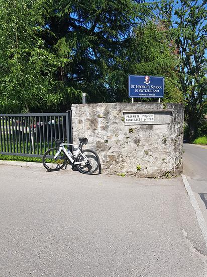 Kleine Tour de Suisse.