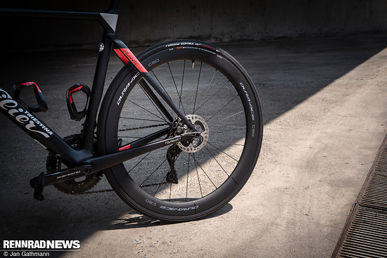 Mit 3 neuen, wesentlich leichteren Modellen hat sich bei den Laufradsätzen viel getan
