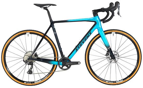 Auch das Cyclocross Wettkampfrad Super Prestige bekommt die verdeckten Kabel