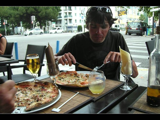 Pizza in Nizza ;-)