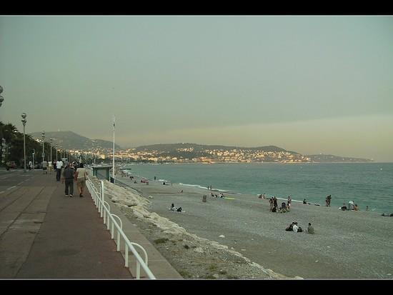 Die Promenade in Nizza