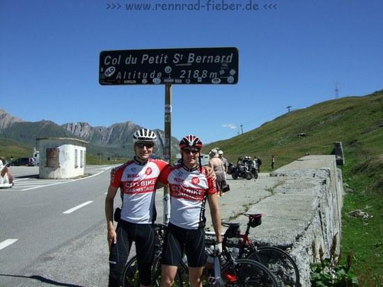 Col du Petit St. Bernard