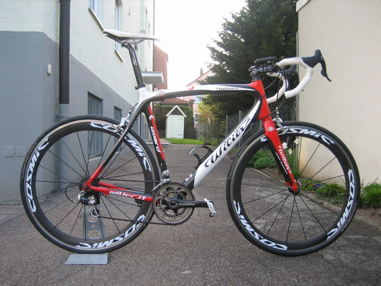 Wilier Izoard- ready for takeoff!