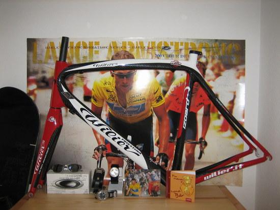 Radsport-Altar