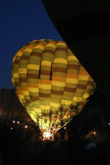 Ballonfahrt in Luxor
