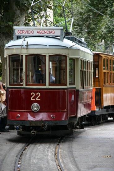 Straßenbahn in Soller