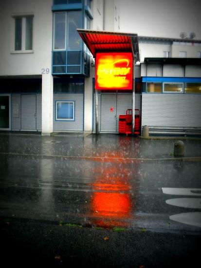 Regen-Penny-klein