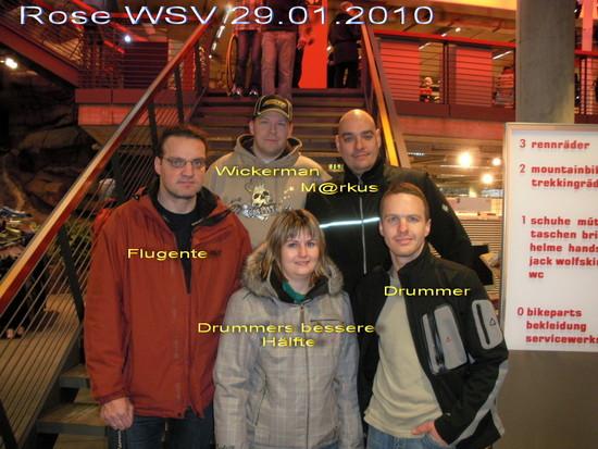 Rose WSV 29.01.2010 Treffen einiger Forumsmitglieder