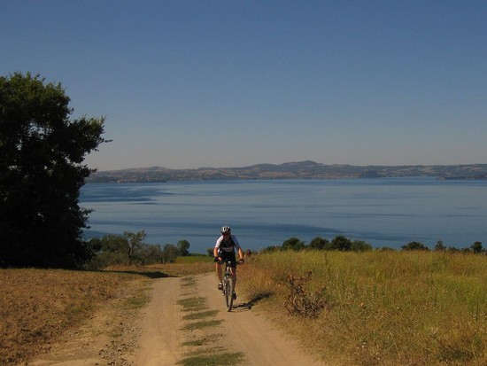 MTB-Tour am Lago di Bolsena