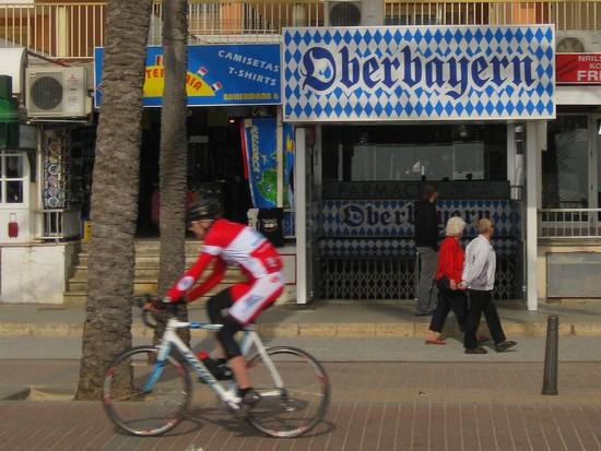 Mallorca: Radsport am Ballermann