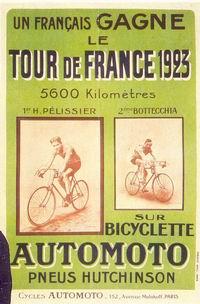 AfficheAutomoto 1923 TourDeFrance