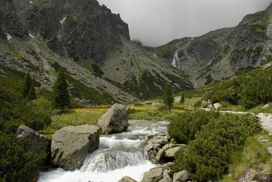 Kleiner kalte Tal, Tatry / Slowakei