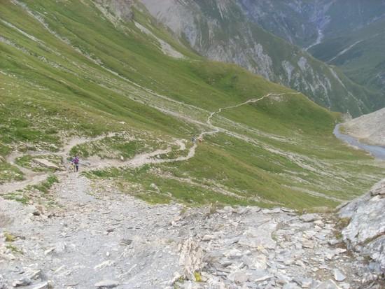 Abfahrt Fimberpass