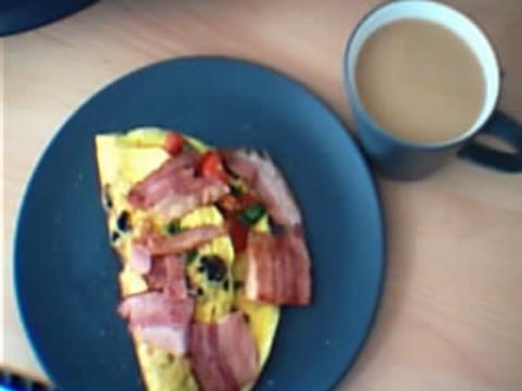gibt es ein schöneres Frühstück um 12 Uhr?