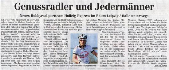 Leipziger Volkszeitung, 06.05.2011
