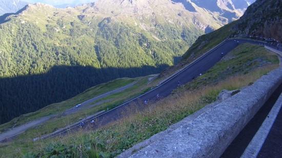 die härtesten 3 kehren am Timmelsjoch beim ÖtztalerRM (ca.2-3km vor passhöhe)