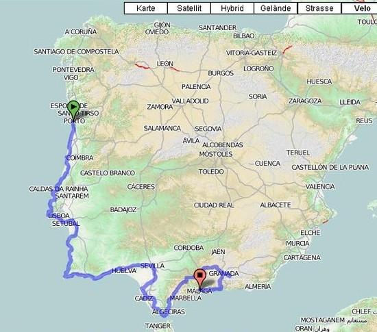 Porto-Malaga 2010