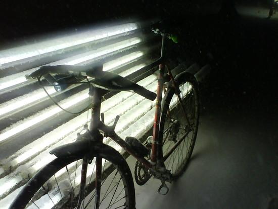 Es schneit schon wieder...
