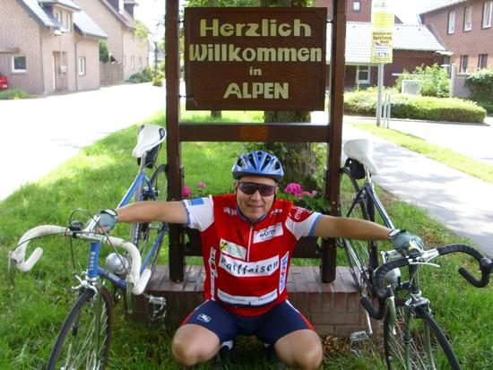Alpen ... mit Alpenländischem Trikot