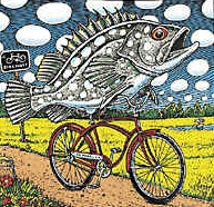 Fisch Fahrrad