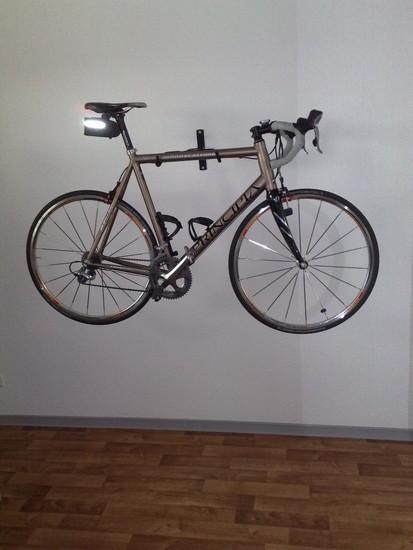 Standesgemäße Rad-Aufbewahrung