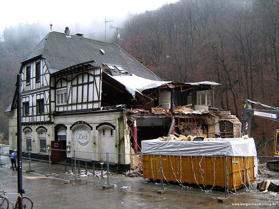 RR-Tour 05.12.2008 - Exit - Letzter Halt Abrissbirne