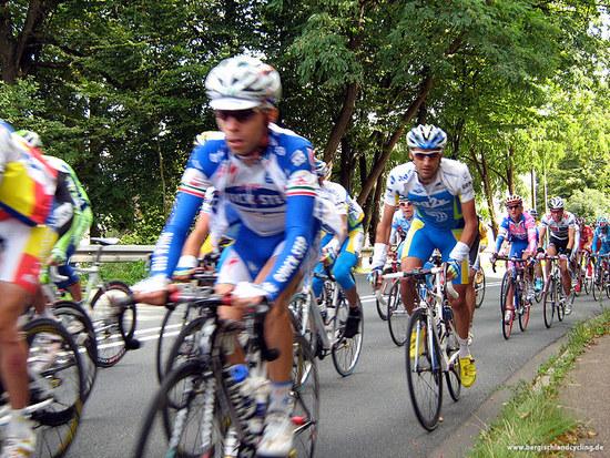 Deutschland Tour 2008 - Peloton in Blecher