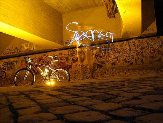 Temporäres Graffito