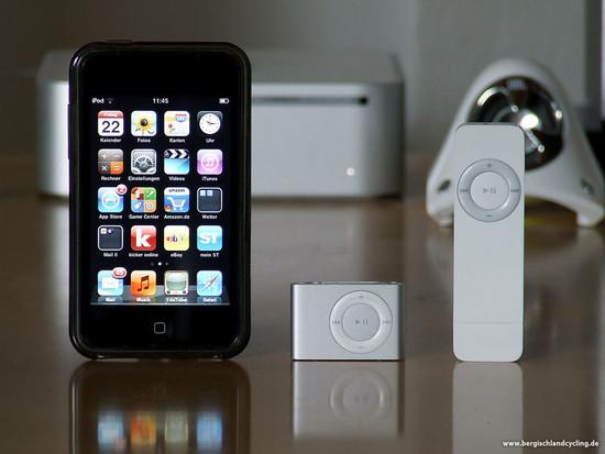 Sommer-iPod | Zweit-iPod | Regen-iPod