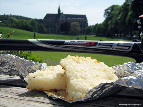 RR-Tour 10.05.2009 - Bergische Pause mit Reiskuchen