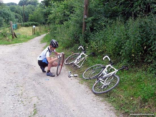 CX-Tour 26.06.2009 - Schon nach 7 km keinen Bock mehr