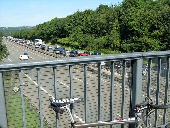 RR-Tour 23.08.2009 - Rien ne va plus auf der A1